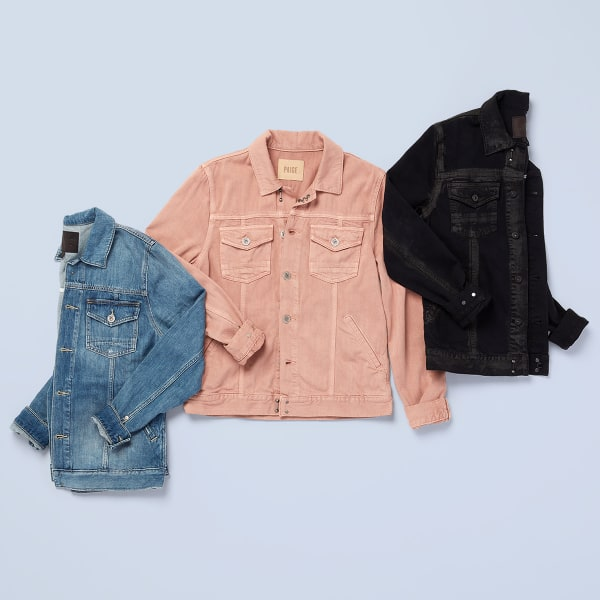 Paige denim jackets and jeans