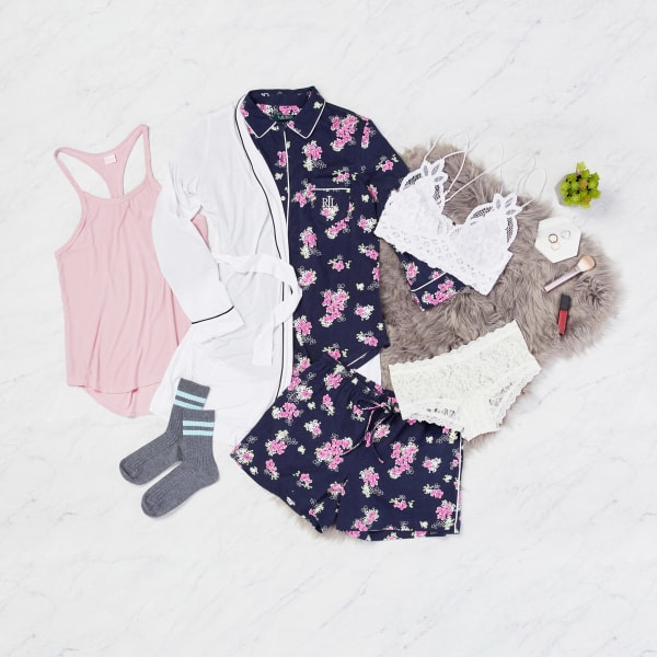 Lacey bra and undies