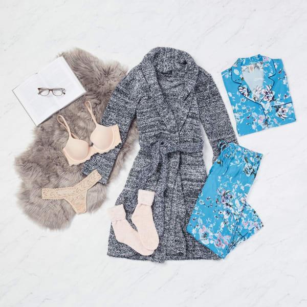 Matching floral pajama set