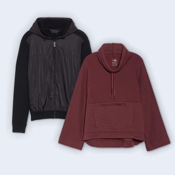 Wool activewear pieces