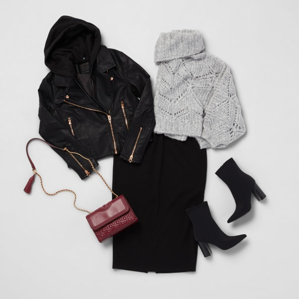 Sweater weather look for women
