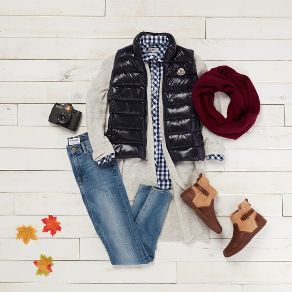 Practical fall clothes