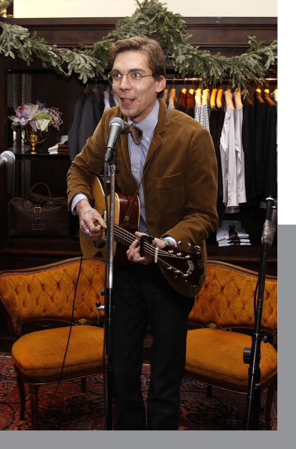 Justin Townes Earle performs at the New York store in 2009.