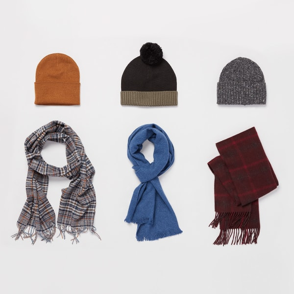 Winter Essentials Hats and scarves