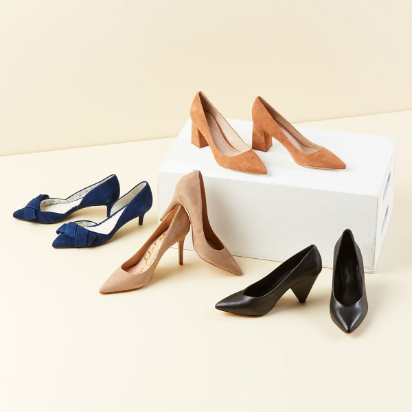 Women's neutral pumps