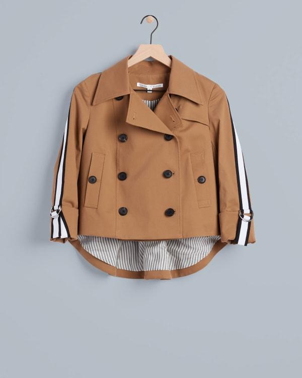 Veronica Beard short trench coat