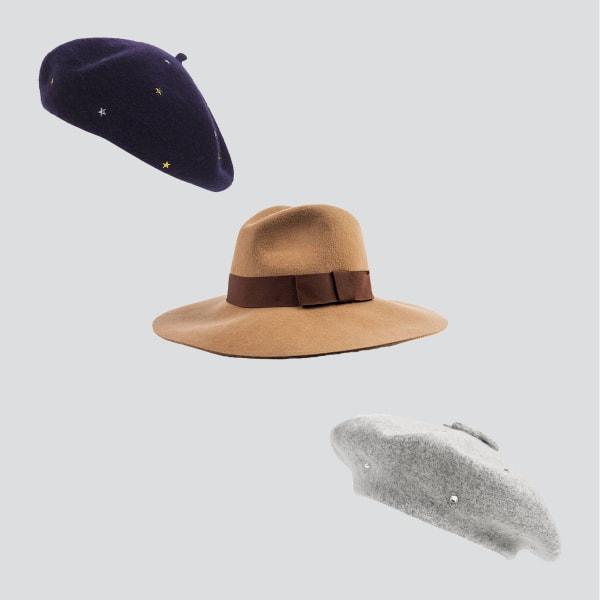 Boho hats