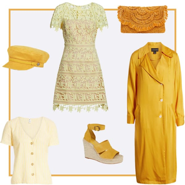 yellow clothing