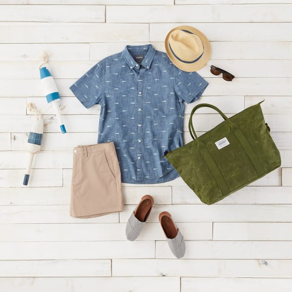 Lake house outfit.