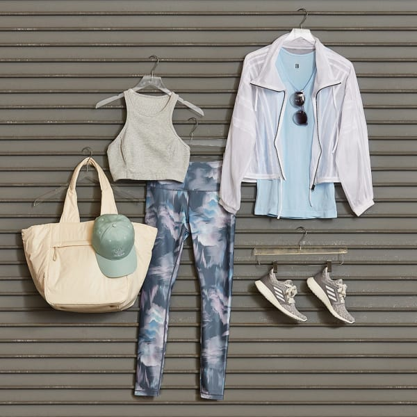 Women's Leggings and Tank Top Athleisure Outfit