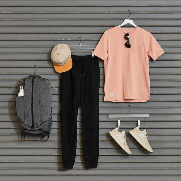 Men's athleisure outfit