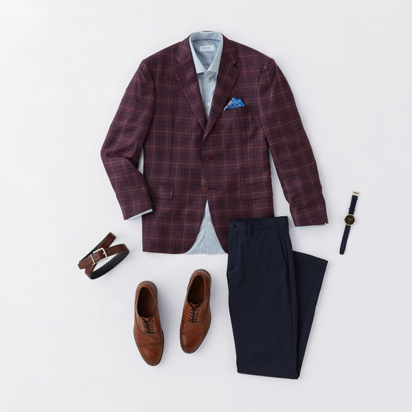 Men's fall sport coat outfit