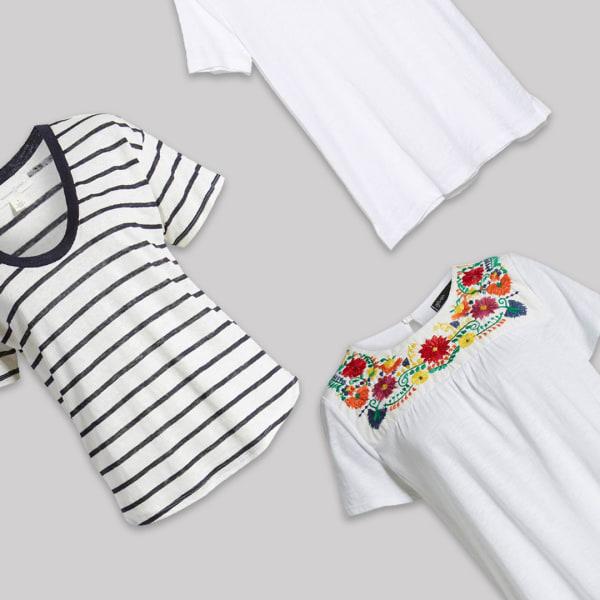 Women's cute cotton tees