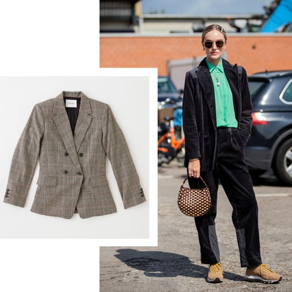 Menswear-inspired outfits for women