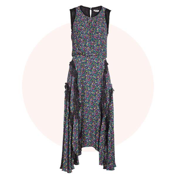 Bias-cut dress