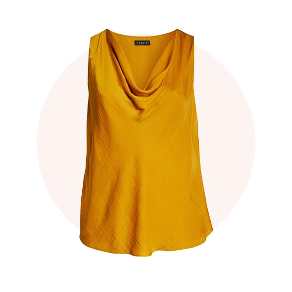 Cowl-neck tops