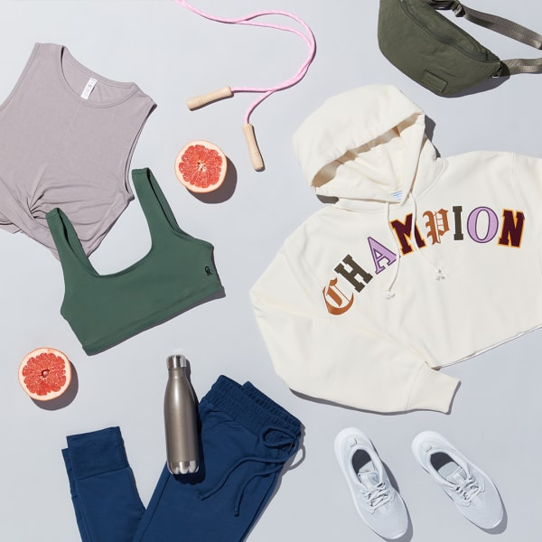 Branded gym clothing