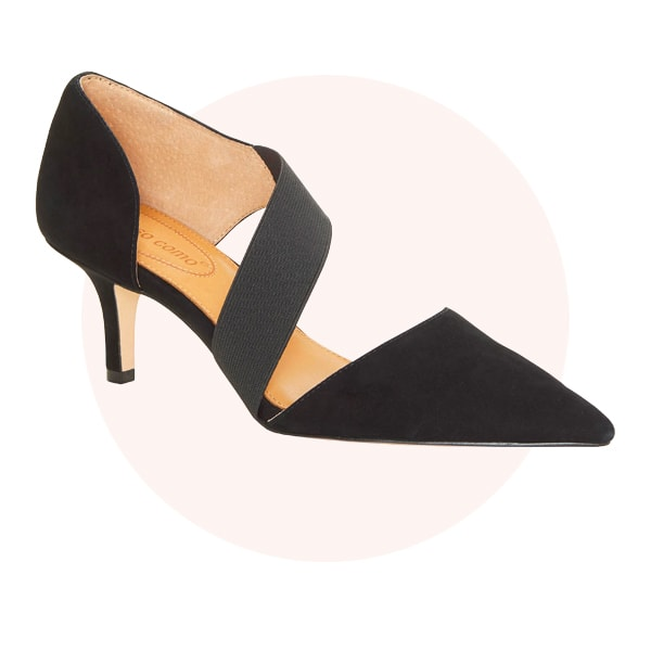 Pointy-toe shoes