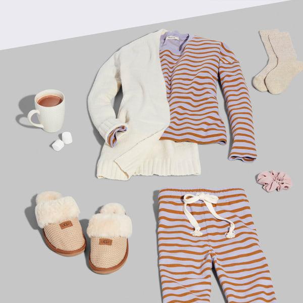 Women's cozy pajama co-ord set