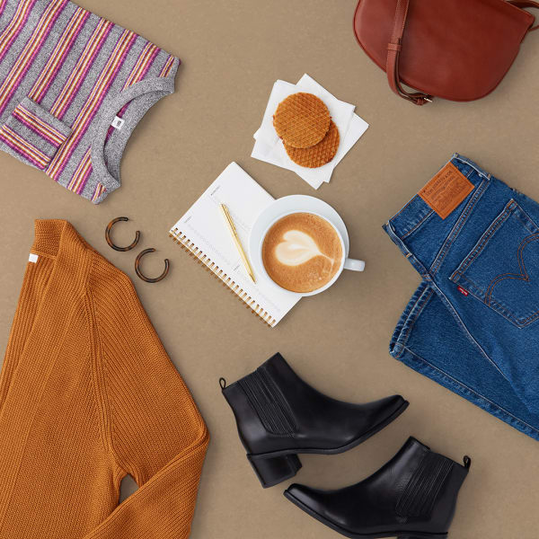 Fall brunch outfit
