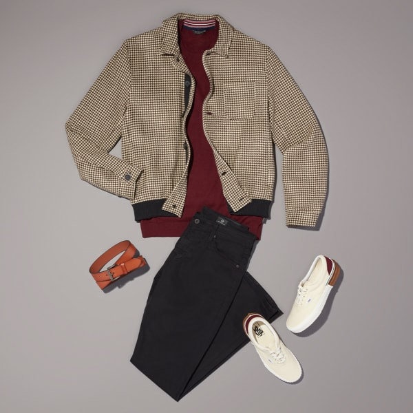 Men's casual workwear outfit