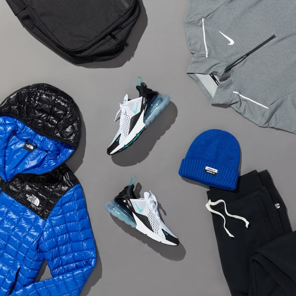 Men's sporty jacket activewear outfit