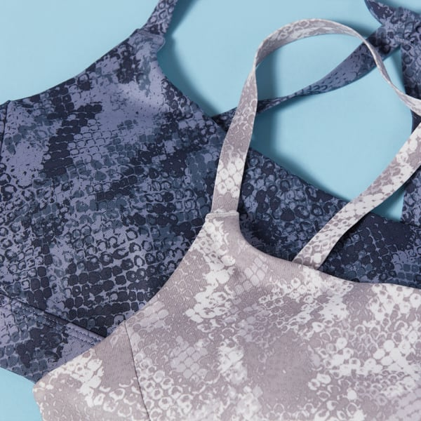 Zella snakeskin-print sports bras