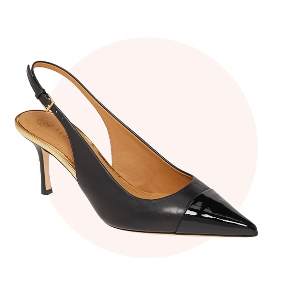 Pointed-toe shoes