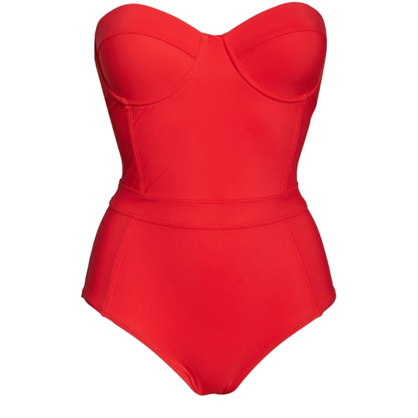 Swimsuit guide spring One-piece bandeau