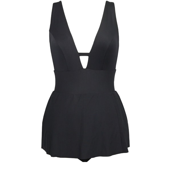 Swimsuit guide spring One-piece Skirted