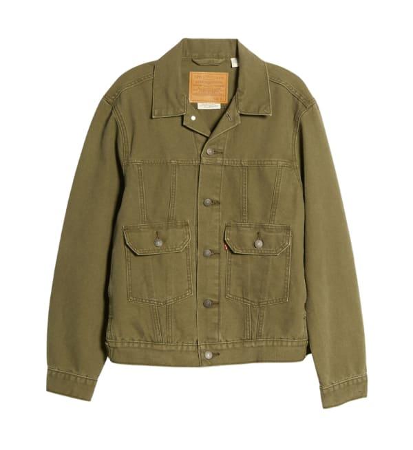 Sustainable Style Mens Brands Levis Denim Jacket