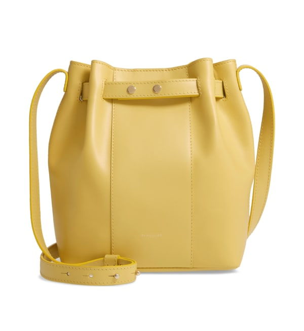 Sustainable Style Womens Brands DeMellier Bucket Bag
