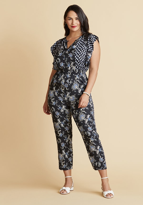 Jumpsuit for Hourglass Shape