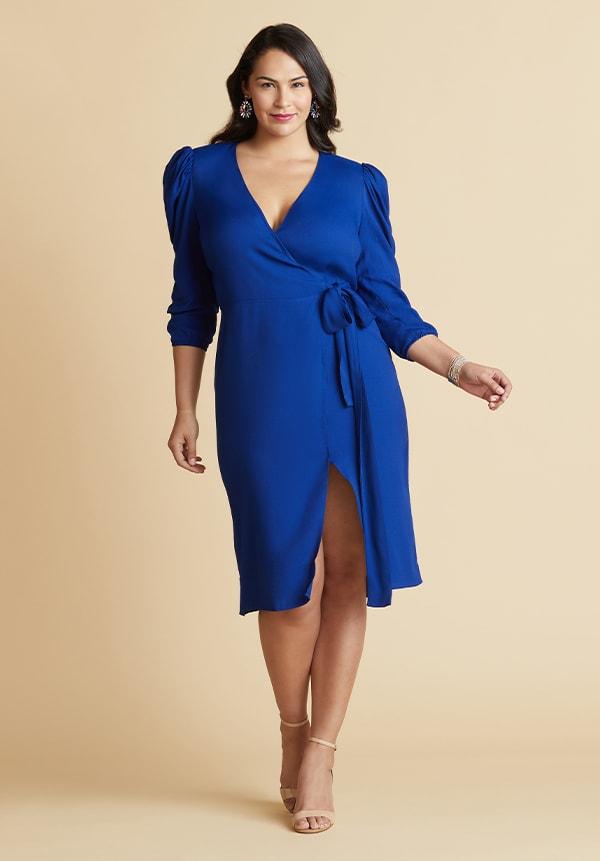 Wrap Dress for Hourglass Figure