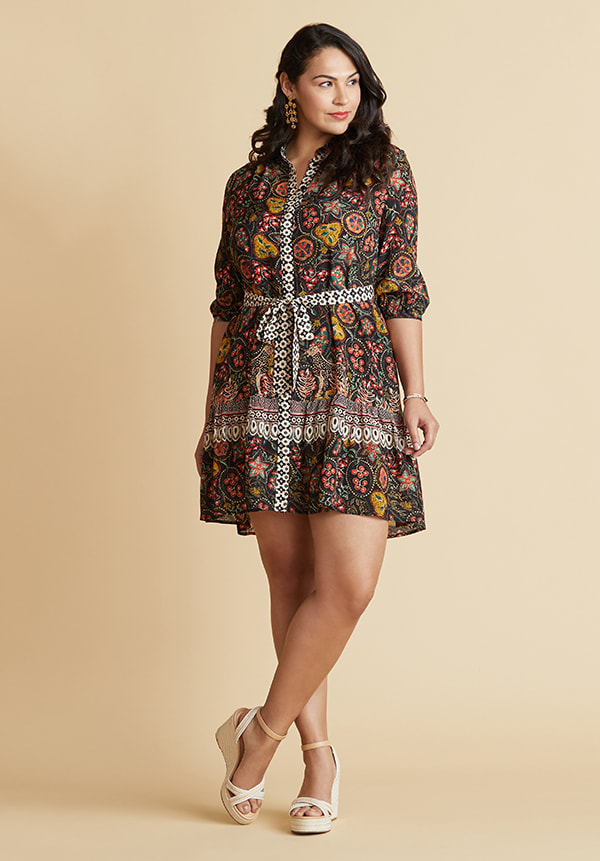 Hourglass Fit & Flare Dress