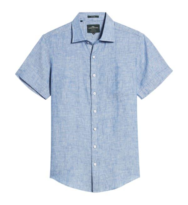 Sustainable Style Mens Brands Rodd & Gunn Button-down