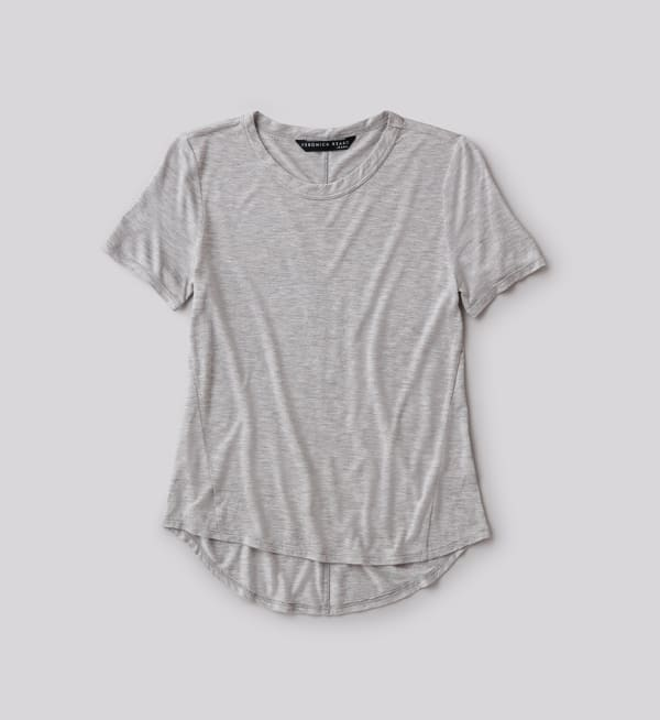 Sustainable-capsule-wardrobe Womens Relaxed-fit-tee