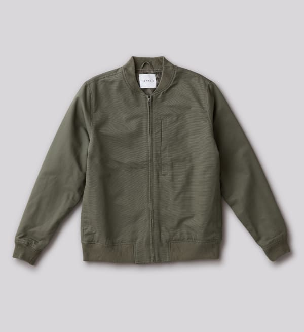 Sustainable-capsule-wardrobe Mens Bomber-jacket
