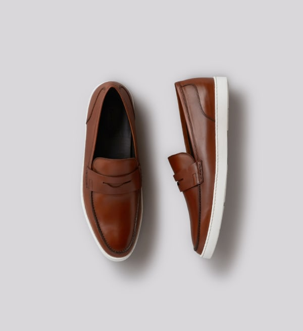 Sustainable-capsule-wardrobe Mens Chelsea-penny-loafer