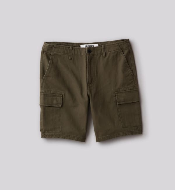 Sustainable-capsule-wardrobe Mens Classic-cargo-shorts