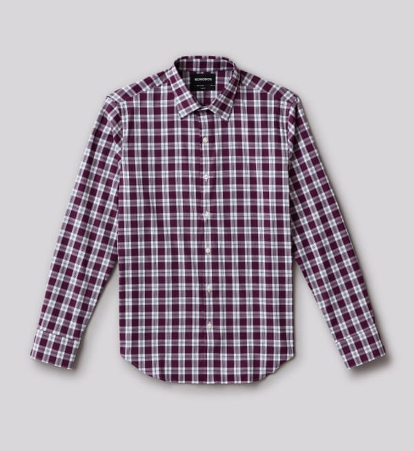 Sustainable-capsule-wardrobe Mens Button-up-performance-shirt