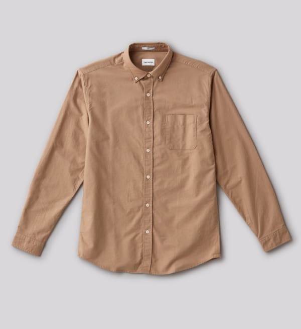 Sustainable-capsule-wardrobe Mens Oxford-button-down-shirt