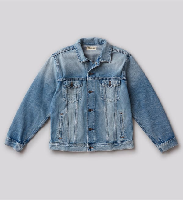 Sustainable-capsule-wardrobe Mens Denim-jacket