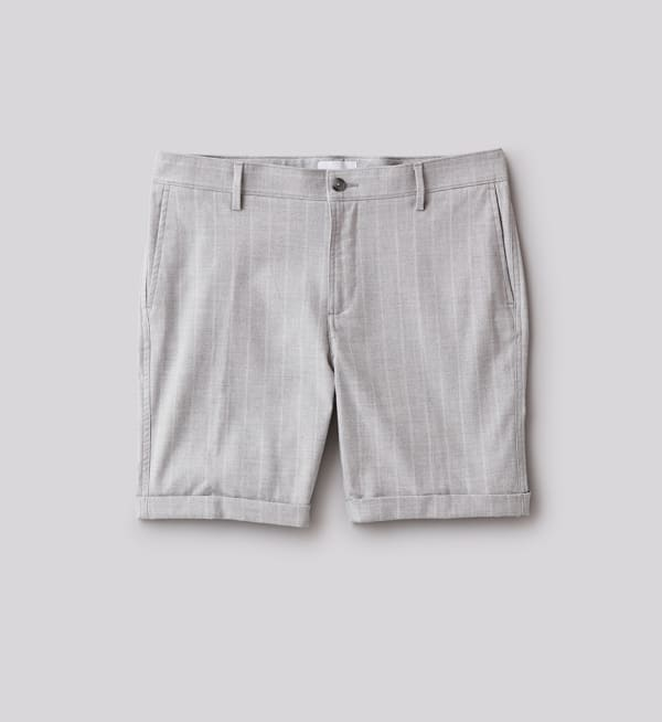 Sustainable-capsule-wardrobe Mens Skinny-fit-shorts
