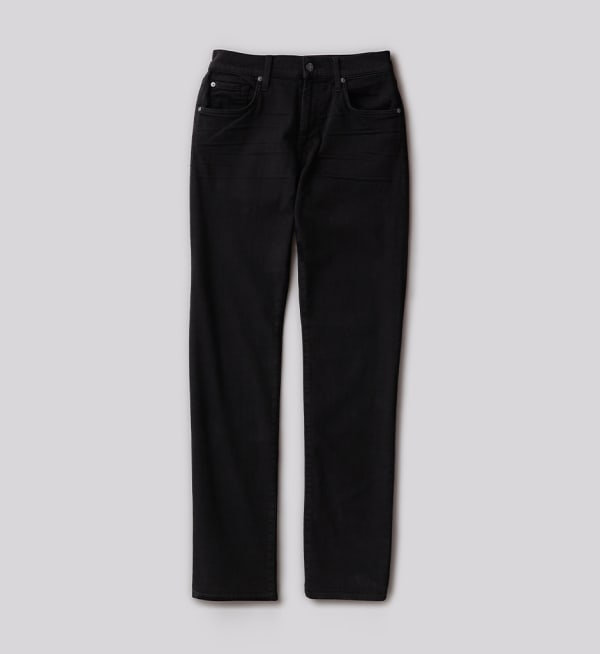 Sustainable-capsule-wardrobe Mens Straight-leg-jeans