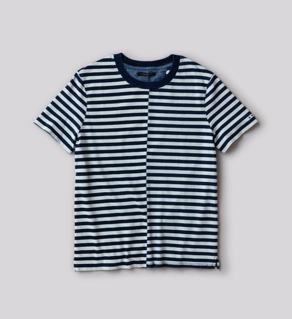 Sustainable-capsule-wardrobe Mens Stripe-T-shirt