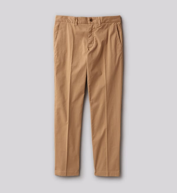 Sustainable-capsule-wardrobe Mens Twill-chino-pants