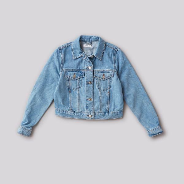 sustainable denim jacket