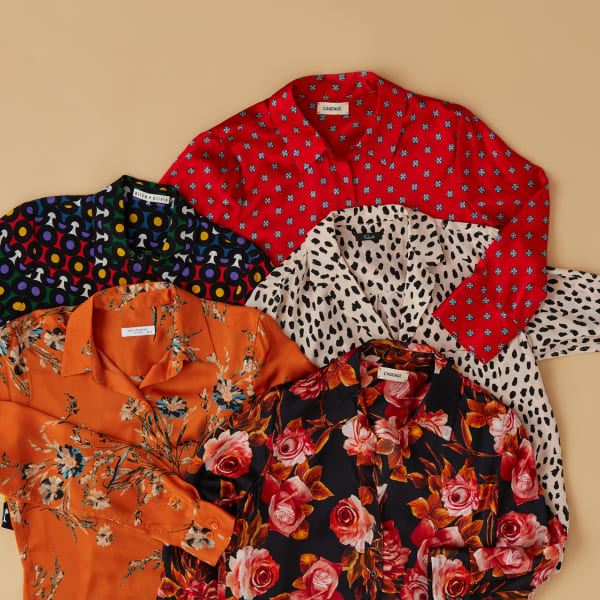 patterned and print shirts