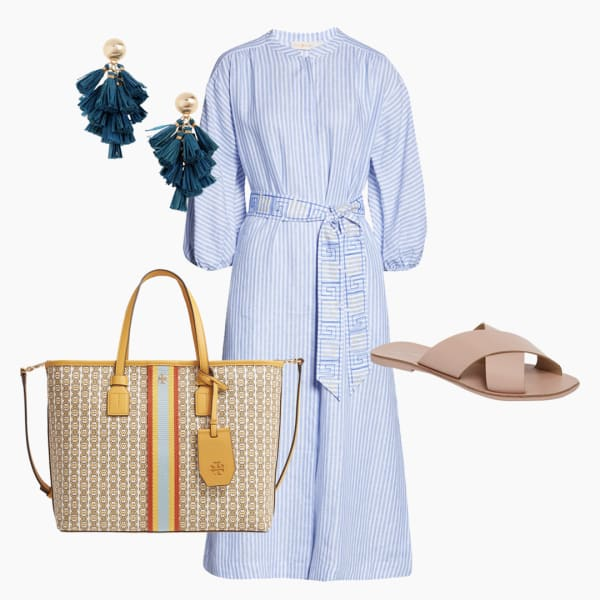 Comfortable summer work outfit